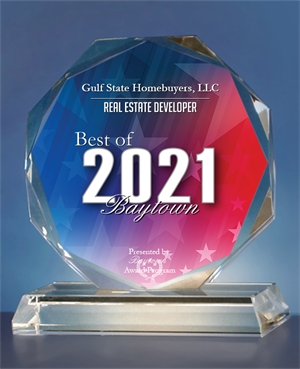 Best In Baytown Award Gulf State Homebuyers